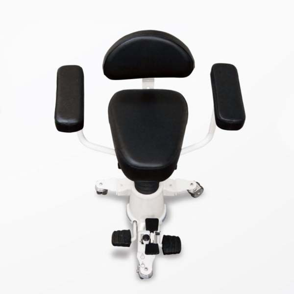 AlphaGlide Wedge seat with arms